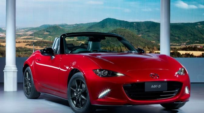 Der neue Mazda MX5 – zurück zu den Wurzeln