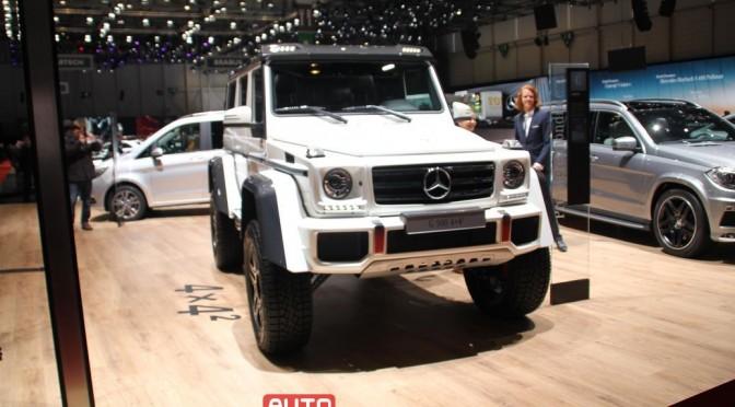 Autosalon Genf 2015, Rundgang am ersten Pressetag, Teil 4, Mercedes-Benz