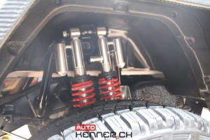 Mercedes-Benz G 500 4x4² Suspension hinten