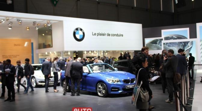 Autosalon Genf 2015, Rundgang am ersten Pressetag, Teil 2, BMW