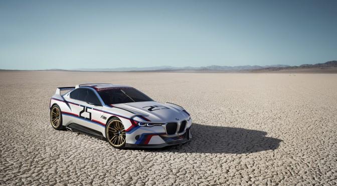 BMW 3.0 CSL Hommage R. Die perfekte Einheit von Fahrer und Fahrzeug