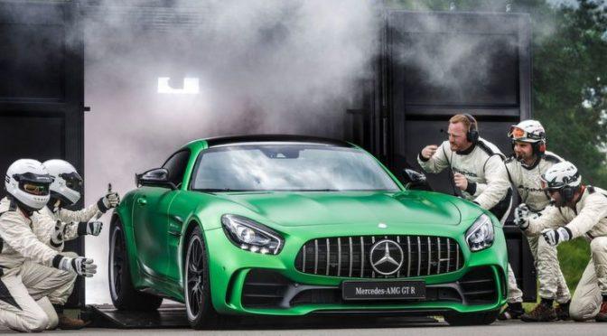 Direkt aus der Grüne Hölle: Mercedes AMG GT R