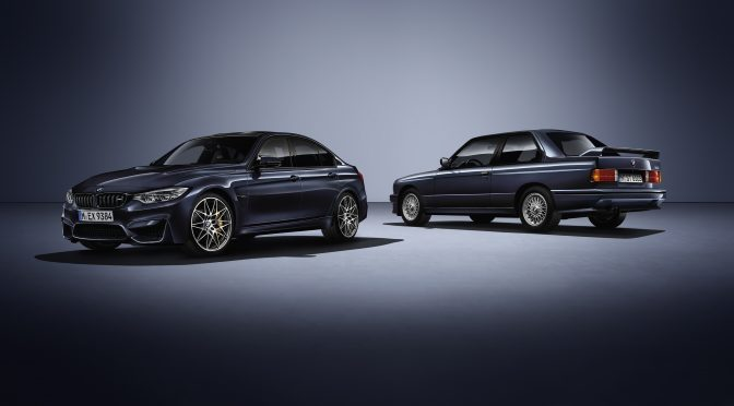 """Für mich ein Traum, leider, die Sonderedition BMW M3 """"30 Jahre M3""""."""
