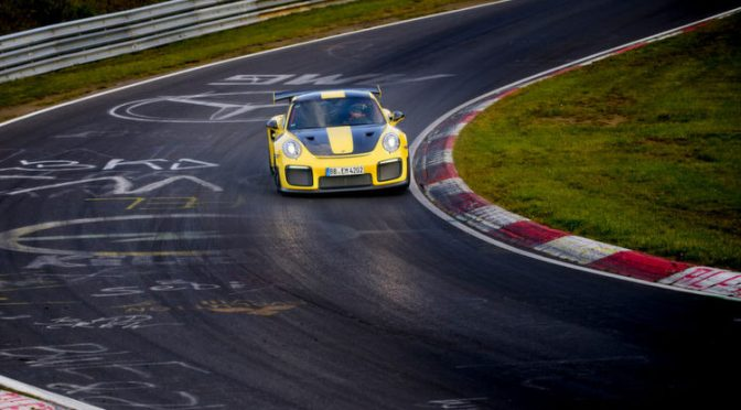 Rekord am Nürburgring: Porsche 911 GT2 RS