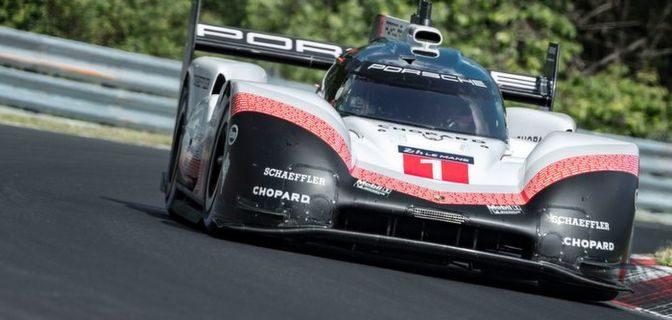 Nürburgringrekord durch Porsche